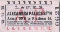 ticket sold by paddington ticket auction
